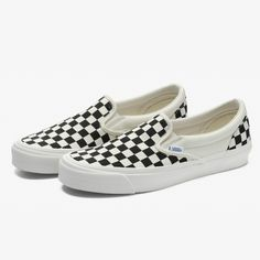 49a6581310 OG Classic Slip On LX Checkerboard (Black White)