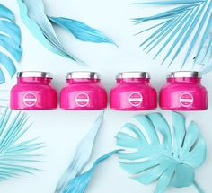 hint hint... your new fave color is here! #capriblue #thinkpink #volcano
