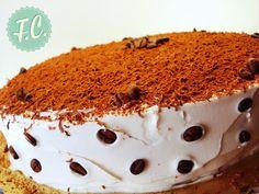 ΤΟΥΡΤΑ Cappuccino Greek Sweets, Tiramisu, Cake Recipes, Caramel, Cheesecake, Deserts, Cooking, Ethnic Recipes, Food