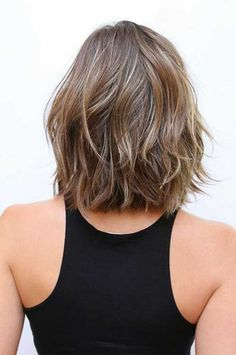 Bob hairstyles are in trends recently but long bob haircuts are extremely popular among women.That's why we have gathered these 25 Best Long Bob Haircuts for. Bob Haircut Back View, Haircut Short, Haircut Bob, Haircut Styles, Waves Haircut, Bob Back View, Asian Bob Haircut, Brown Bob Haircut, Messy Haircut