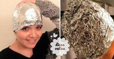 Truque com uma folha de papel alumínio que encanta até os cabeleireiros profissionais