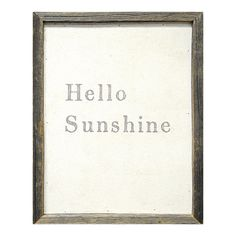 Sugarboo Designs Hello Sunshine Framed Painting Print | Wayfair