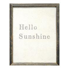 Sugarboo Designs Hello Sunshine Framed Painting Print | Wayfair
