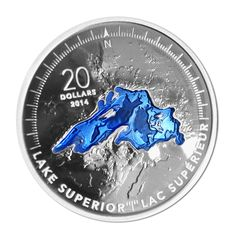 Fine Silver Coins - The Great Lakes Subscription - Mintage: