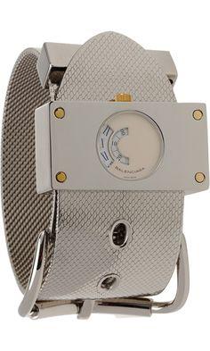 Balenciaga Montre Acier Silver Watch ($1,945.00) - Svpply