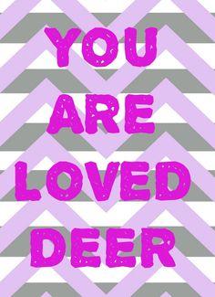 Chevron Word Nursery kids Print childrens room Poster art love #ElsaBell #whimsical