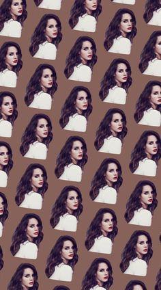 Lana Del Rey phone wallpaper edit #LDR #pattern