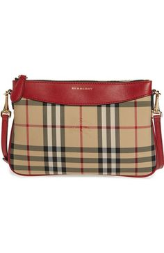 c5a91911078a Burberry  Peyton - Horseferry Check  Crossbody Bag