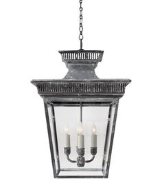 Foyer Light Visual Comfort E. Chapman Elsinore 4 Light Foyer Pendant in Weathered Zinc photo Circa Lighting, Foyer Lighting, Pendant Lighting, House Lighting, Outdoor Lighting, Kitchen Lighting, Lantern Lighting, Cottage Lighting, Outdoor Lantern