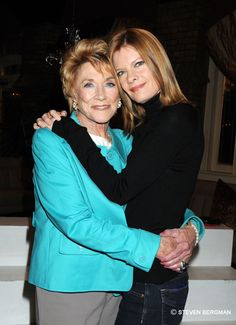 Chancellor and Phyllis Newman. Beautiful Inside And Out, She Was Beautiful, Anniversary Photos, 40th Anniversary, Michelle Stafford, Nikki Reed, Young And The Restless, Cottage Ideas, Celebs