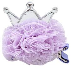 Mirage Pet Products Princess Puff Clip-on, Standard, Lavender >>> See this great product.