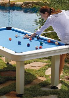 Great Outdoor Pool Table.