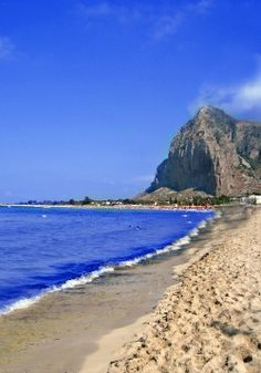 An ancient island with a beach from the brochures of Paradise...this is Sicily!