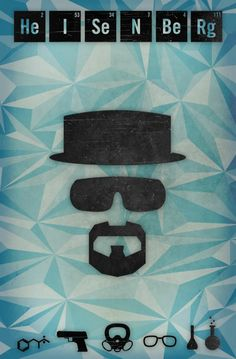 Breaking Bad by Valerie Rossi, via Behance