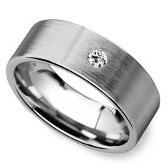 Mens tungsten wedding bands are a great alternative to traditional white gold or platinum bands. Tungsten is a natural silver-grey, similar to other white metals, but it is a much more durable ring option—and comes at a fraction of the cost! Mens Wedding Rings Tungsten, Diamond Wedding Rings, Ring Size Guide, Wedding Men, Rings For Men, Celebration, Classic, Modern, Diy