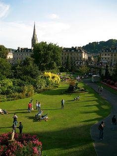 Bath, England *Went to an afternoon concert in the park here! lovely!. 6/13