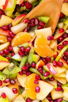 Winter fruit salad is refreshing and loaded with the best fruits of winter. The lemon-lime-honey syrup is lip-smacking good! You'll be running for refills!