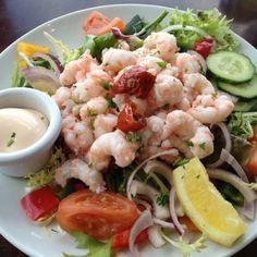 Linnanes seafood restaurant New Quay the burren Newquay, Seafood Restaurant, Potato Salad, Shrimp, Potatoes, Spaces, Bar, Ethnic Recipes, Potato