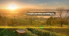 The Ultimate Guide to Parallax Scrolling: Best Practices, Examples and Tutorials #parallax #blog #graphicdesign