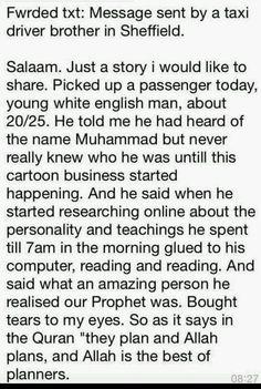 See! These are Allah's beautiful plans!  وَمَكَرُوا وَمَكَرَ اللَّهُ ۖ وَاللَّهُ خَيْرُ الْمَاكِرِينَ