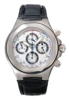 Girard-Perregaux Laureato EVO3 Perpetual Calendar Mens Watch 90190-53-131-BB6D: Watches: www.girardperregauxwatches.com