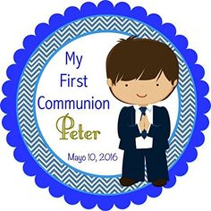 40 Round Labels First Boy Communion Personalized Stickers, Christening Custom Hang tags, Holy Communion Labels, Party Favors-Choice Of Size Custom Hang Tags, Couples Coupons, Round Labels, Personalized Stickers, Cat Sweatshirt, Shirts For Teens, Printable Coupons, First Communion, T Shirt Diy
