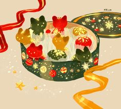 SUPERSONIC ART: Nadia Kim x INPRNT. Absolutely adorable...