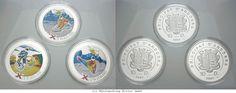 RITTER Andorra, 3x 10 Diners 2007, Xtreme Serie, Farbmünzen, PP #coins #numismatics