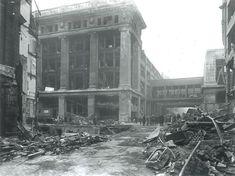 Photo:V2 damage to Selfridges, 1944 (viewed from Barrett Street)