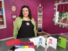 Host Julie Fei-Fan Balzer uses the Brother ScanNCut machine to create pop up lace cards on Scrapbook Soup. Click here to view episodes of Scrapbook Soup: scrapbooksouptv.com/