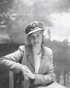 Princess Elizabeth, soon-to-be Queen Elizabeth II. 1942