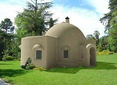 cob dome house