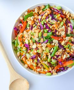 Thai Brussels Crunch Salad