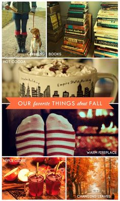 Favorite things about fall