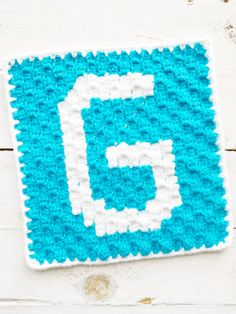 Crochet Alphabet Blanket Pattern | c2c ABC Afghan | Lovable Loops