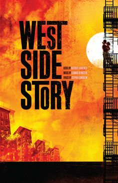 "West Side Story - a very good musical,  the plot is basically Romeo and Juliet. The film is set in America, and shows the rivalry between two gangs, the American ""Jets,"" and the Puerto Rican ""Sharks."" In the midst of all this,  a boy and girl from opposing sides fall in love..."