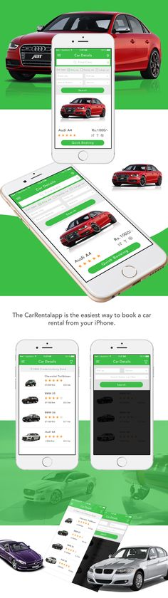 Car Rental App iOS on Behance