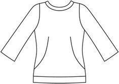 Пуловер - выкройка № 106 C из журнала 9/2012 Burda – выкройки пуловеров на Burdastyle.ru