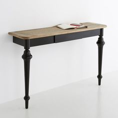 Console Tables, Hallway & Narrow Tables - LIPSTICK Wall Mounted Console Table La Redoute Interieurs : price, r Hallway Decorating, Entryway Decor, Entryway Tables, Console Tables, Hallway Console, Tables Étroites, Entryway Lighting, Modern Entryway, Entryway Ideas