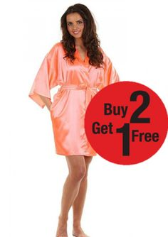 Bridesmaid Robes, Wedding Bride, Perfect Wedding, Beautiful Dresses, Cold Shoulder Dress, Dressing, Satin, Gowns, Free Shipping