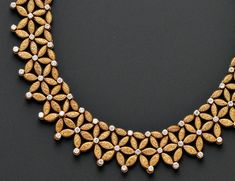 18kt Gold and Diamond Necklace, Mario Buccellati