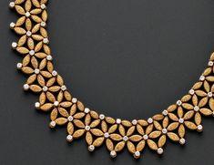 18kt Gold and Diamond Necklace, Mario Buccellati