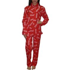 2PC SET: Coca Cola Womens Fall / Winter Thermal Pajama Set *** Want to know more, click on the image. (This is an affiliate link) #Pants