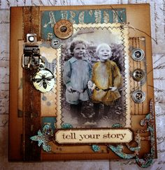 Love this Vintage card by Candy ⊱✿-✿⊰ Follow the Scrapbook Pages board & visit GrannyEnchanted.Com for thousands of digital scrapbook freebies. ⊱✿-✿⊰