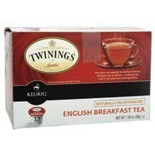 Twinings English Breakfast Decaf Tea Keurig K-Cups, 72 Count >>> Click image for more details.
