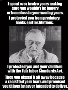 FDR was a good man, and a great President