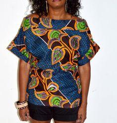 blusas de capulana - Pesquisa Google