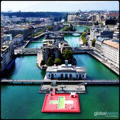 Cité du Temps Geneva, Switzerland, Sky, Heaven, Heavens