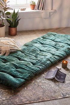 Urban Outfitters Velvet Meditation Mat #meditationroomdecor #meditationroomideas