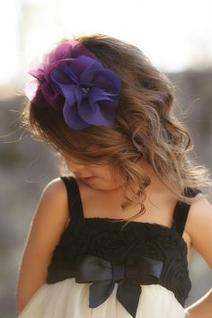 headband-how sweet and pretty for a little girl
